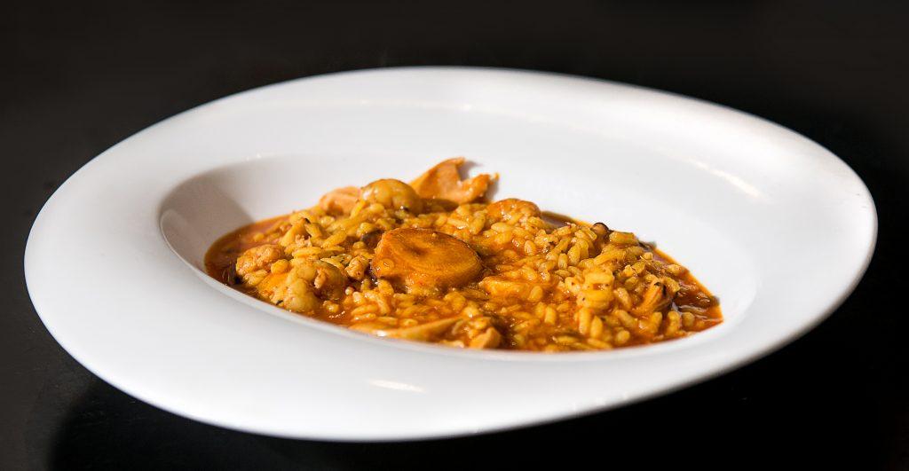 Palto arroz con pulpo Daniela